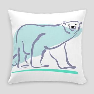 Bear100-polar Everyday Pillow