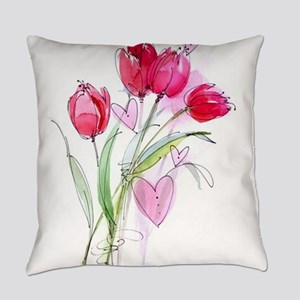 Tulip2a Everyday Pillow