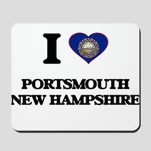 I love Portsmouth New Hampshire Mousepad