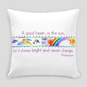 A good heart Everyday Pillow