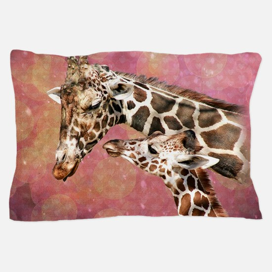 Cute Giraffe Pillow Case
