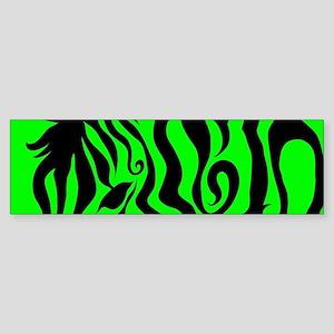 ZEBRA!! Sticker (Bumper)