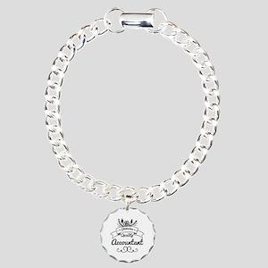 Genuine Quality Accounta Charm Bracelet, One Charm