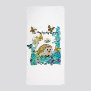 Hedgehog Queen Beach Towel