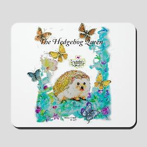 Hedgehog Queen Mousepad