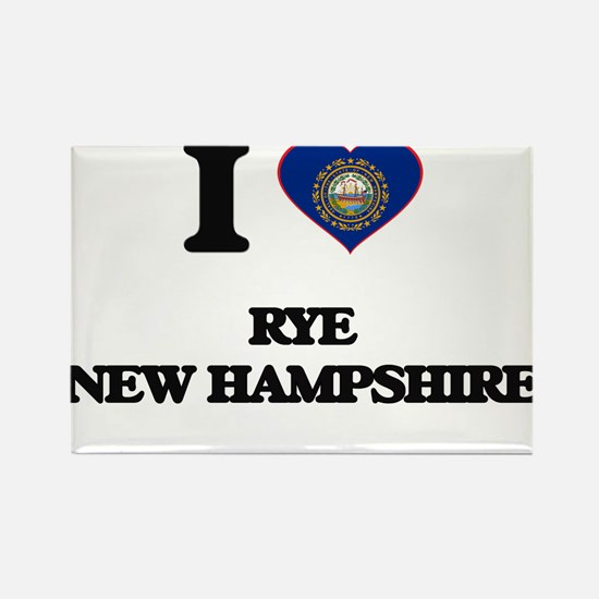 I love Rye New Hampshire Magnets