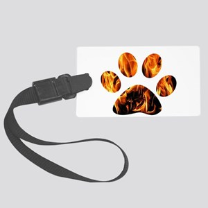 PAWPRINT ON FIRE Luggage Tag
