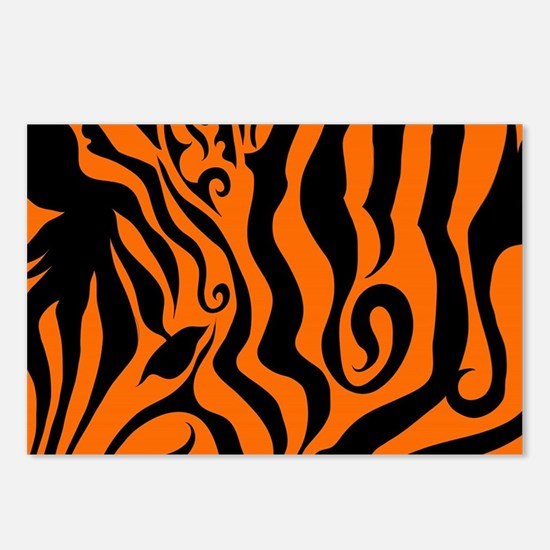 ZEBRA!! Postcards (Package of 8)