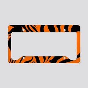 ZEBRA!! License Plate Holder