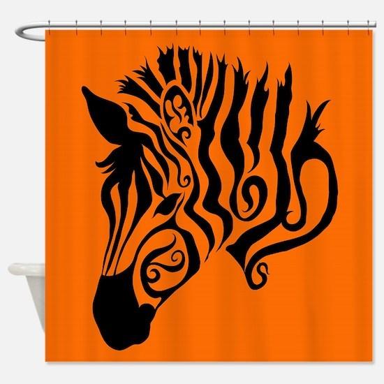 ZEBRA!! Shower Curtain