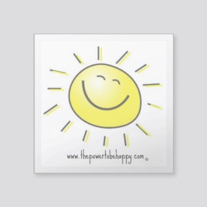 Happy Face Sticker