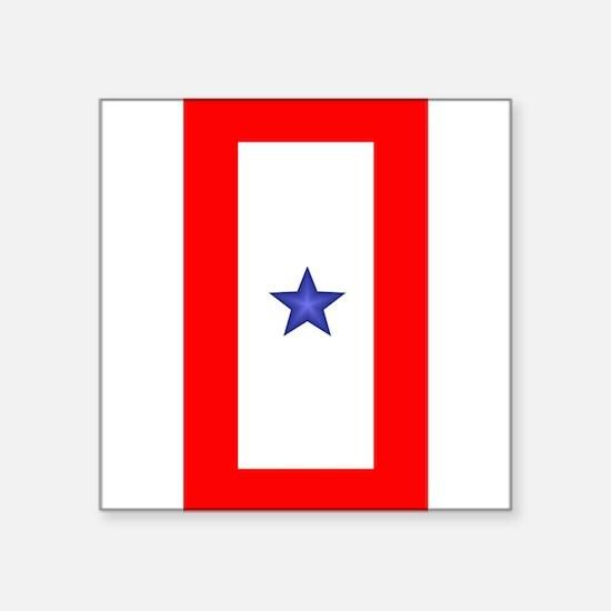 """Cute Blue star Square Sticker 3"""" x 3"""""""
