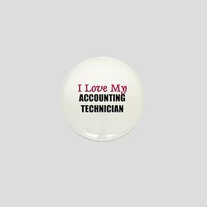 I Love My ACCOUNTING TECHNICIAN Mini Button