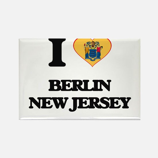 I love Berlin New Jersey Magnets