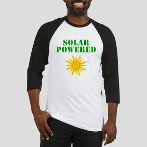 Solar Powered Baseball Jersey
