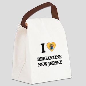 I love Brigantine New Jersey Canvas Lunch Bag