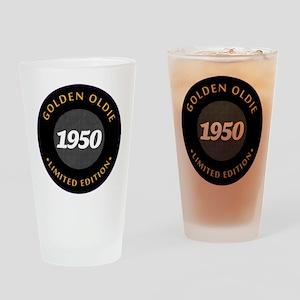 Birthday Born 1950 Classic Edition Drinking Glass