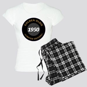 Birthday Born 1950 Classic Women's Light Pajamas