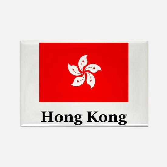 Hong Kong Rectangle Magnet