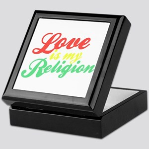 Love is my Religion Keepsake Box