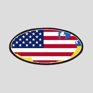Ukrainian-American Patch