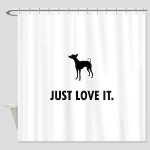 Xoloitzcuintli Shower Curtain