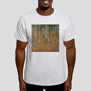 Birch Forest by Gustav Klimt T-Shirt