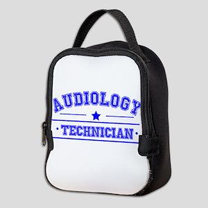 audiology technician Neoprene Lunch Bag