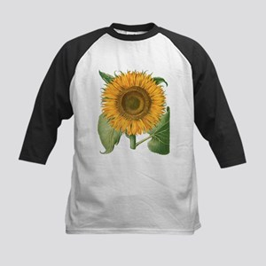 Vintage Sunflower Basilius Besler Baseball Jersey