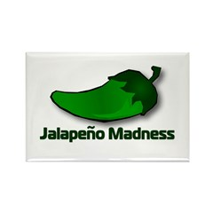 Jalapeno Madness Rectangle Magnet (10 pack)