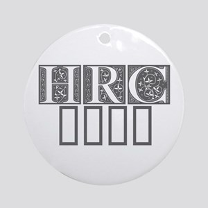 HRC 2016-Fle gray 470 Ornament (Round)