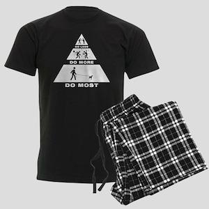 Xoloitzcuintli Men's Dark Pajamas