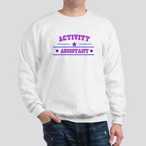 activity assistant Sweatshirt