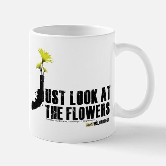 Walking Dead Look at the Flowers Mug