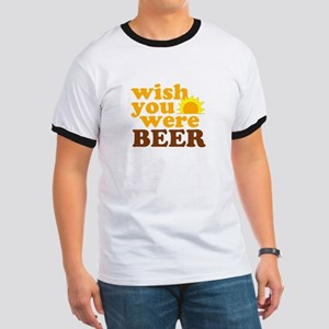 wish you were BEER Ringer T