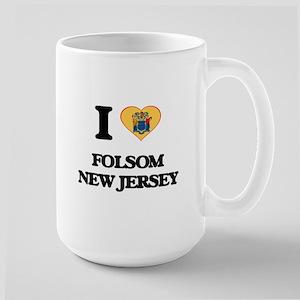 I love Folsom New Jersey Mugs