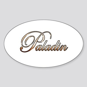 Gold Paladin Sticker