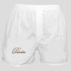 Gold Paladin Boxer Shorts