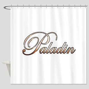 Gold Paladin Shower Curtain