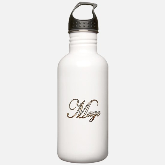 Gold Mage Water Bottle
