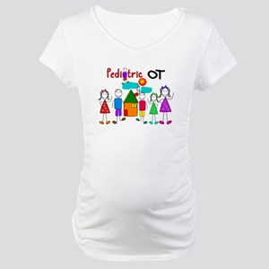 Pediatric Occupational Therapist Maternity T-Shirt