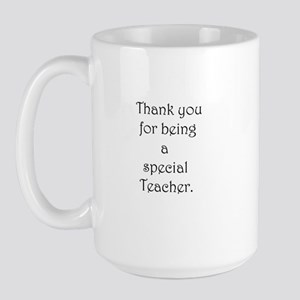 Special Teacher Personalized Large Mug