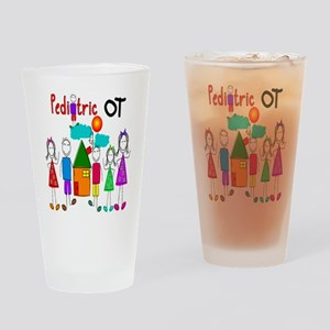Pediatric Occupational Therapist Drinking Glass