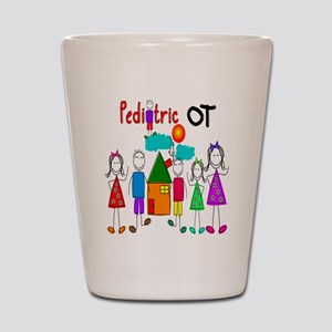 Pediatric Occupational Therapist Shot Glass