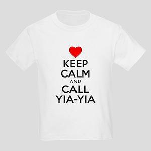 Keep Calm Call Yia-Yia T-Shirt