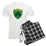 Ireland Shamrock Shield Pajamas