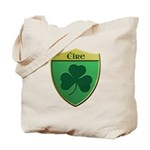Ireland Shamrock Shield Tote Bag