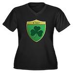 Ireland Shamrock Shield Plus Size T-Shirt