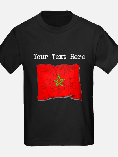 Morocco Flag (Distressed) T-Shirt