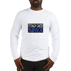 'Stomach Cancer Survivor' Long Sleeve T-Shirt